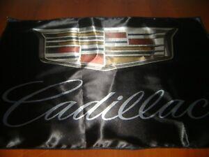 "Cadillac Logo 20x30"" Flag Banner Garage Racing Shop Decor SVT Cadi Race Flag"