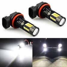 JDM ASTAR 2x H11 H8 1200LM LED Car DRL Fog Light Bulbs Xenon White For Honda BMW