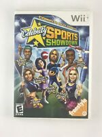 Celebrity Sports Showdown - Nintendo Wii Game - Tested
