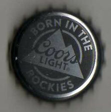 American Beer Bottle Top Crown Cap - Molson Coors Brewery - USA - Coors Light