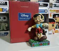 Statua Disney Traditions Enesco Jim Shore Pinocchio che balla 4010027 Showcase