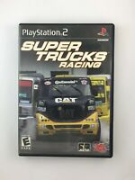 Super Trucks Racing - Playstation 2 PS2 Game - Complete & Tested