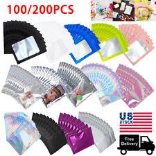 1200 Smell Proof Zip Seal Mylar Bags Aluminum Foil Resealable Zip Lock Bagfresh