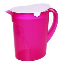 Tupperware Pitcher 1 Gallon Impressions 3.75 Liter Beverage Server Pink