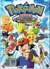 POKEMON MASTER QUEST (SEASON 5) - COMPLETE TV SERIES 1-64 EPS BOX SET (ENG DUB)