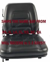 SUSPENSION FORKLIFT SEAT WITH SAFETY SWITCH LIFT TRUCK FAST SHIPPING CHAIR NEW