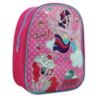 MY LITTLE PONY JUNIOR BACKPACK RUCKSACK SCHOOL BAG CHILDRENS KIDS GIRLS PINK