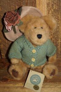 "Boyds Bear - MUSICAL Mrs. Trumbull  - 11"" ""Puttin on the Ritz"""