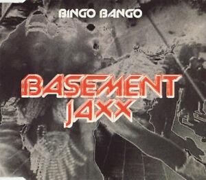 Basement Jaxx – Bingo Bango 3-Track CD Single Jump N' Shout (Stanton Warriors)