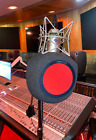 Iconic Mars Comet - Portable Vocal Studio Booth I Microphone Accessory Pop Guard