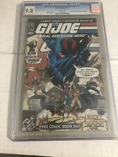 IDW FREE Comic BookDay  G.I. Joe A Real American Hero #155 1/2 FCBD 2010 CGC 9.8