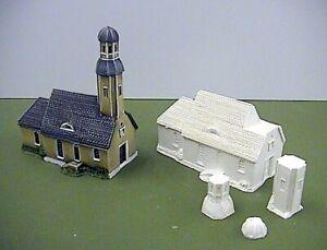 6mm German 18th Century Church (Code 20/LE3)