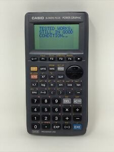 Casio FX-7400G Electronic Graphics Graphing Calculator Tested w/Cover