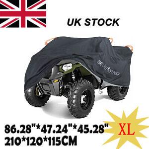 XL Waterproof Quad Bike ATV Cover Outdoor Rain Dust Heatproof Storage Protector