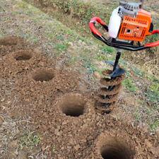 More details for earth auger drill bit fence borer spiral post hole digger tool garden planting
