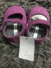 John Lewis 6-12months Purple Girls Shoes Sandals