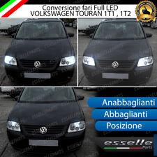 KIT FARI FULL LED VW TOURAN 1T1 1T2 ANABBAGLIANTI ABBAGLIANTI POSIZIONE LED