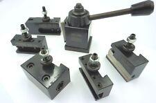 Mini Wedge Type Quick Change Toolpost Set (Ref: 50053000) For Mini Lathe etc