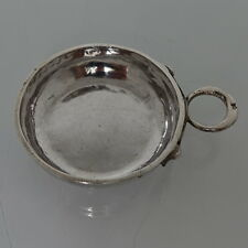 18th siècle French Antique Silver wine Taster circa 1784 Angers Joseph BEDANE
