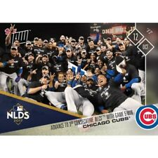 2017 TOPPS NOW CUBS ADVANCE TO 3RD CONSECUTIVE NLCS W/GAME 5 WIN MLB CARD 754