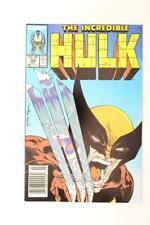 Incredible Hulk # 340 - NEAR MINT 9.6 NM - WOLVERINE! Avengers! MARVEL Comics
