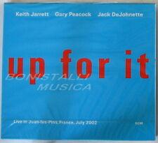 Keith JARRET Gary PEACOCK Jack DeJOHNETTE - UP FOR IT LIVE - CD Sigillato