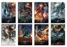 Pacific Rim Movie Postcard Set 8pcs Kaiju jaegar