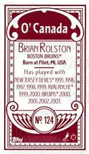 2003-04 Topps C55 Minis O Canada Red #124 Brian Rolston