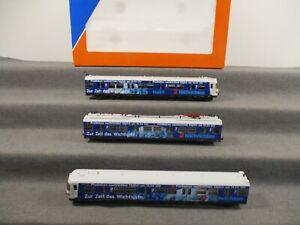 """Roco H0 AC 69006 Elektro-Triebzug 3-teilig BR 420 DB """"Pro7"""" Digital DCC-MM OVP"""