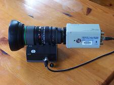 SONY 3CCD Camera DXC-930P+Canon BCTV Lens YH17X7 or FUJINON A14x9BERM-28 Lens