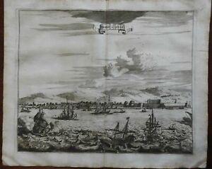 Abydos Hellespont Ottoman Port City Sea Marmara Anatolia 1661 Vastean coast view