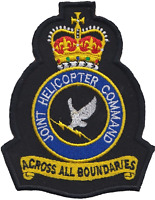 Joint Helicopter Command JHC Crest MOD Embroidered Patch