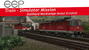 EEP TSM Gotthard Nordrampe Modul Erstfeld (Download-Code): Eisenbahn-Simulation