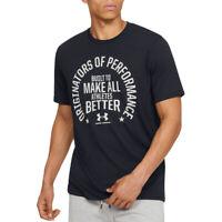 Under Armour Herren Ua Heizausrüstung Machen Alle Sportler Besser T-Shirt L