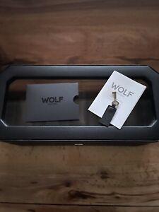 BNIB Wolf Windsor 5 Piece Watch Box