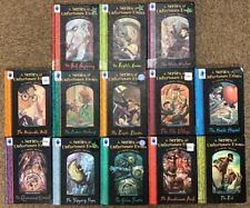 A Series of Unfortunate Events, Lemony Snicket, complete 13 children's books set