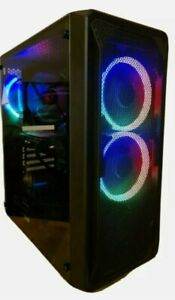 FAST Mid Range Gaming PC i7 4790 3.9GHz AMD RX 570 SPECIAL OFFER