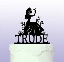 Personalised Princess Cake Topper