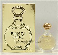 ღ Parfum Sacre - Caron - Miniatur EDT 3ml