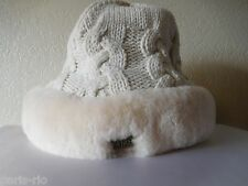 New Australia Luxe Collective Dove Cable Knit Hat, Beanie, Cap!