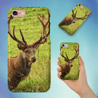 NATURE FOREST ANIMAL WILD 1 HARD BACK CASE FOR APPLE IPHONE PHONE