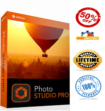 🔥InPixio Photo Studio Ultimate pro 10✅ Lifetime Full Activation Fast Delivery