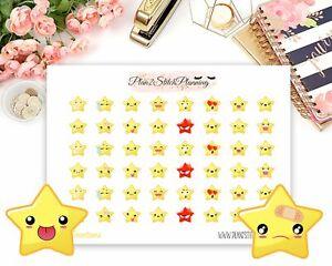 Star Emotions Planner Stickers