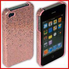 iPhone 4S / 4 Rückschale Case Bumper Tasche Hülle Schale S i Phone glitzer rosa