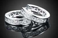 Creolen Zirkonia 925 Sterling Silber