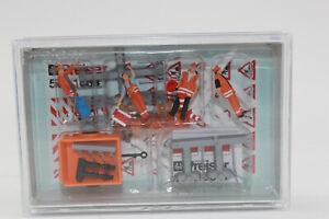 Preiser 10347 Service Routier 4 Figurines avec Accessoires H0 1:87 Neuf IN Ovp