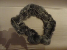 Pelliccia Collo 100% Coniglio naturale 100% Real Rabbit Fur Neck Warmer Scarf