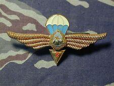 Romania Airborne Parachutist Jump Wings metal parachute Badge 2nd Class B&T 935