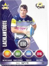 North Queensland Cowboys 2016 Season Single NRL & Rugby League Trading Cards
