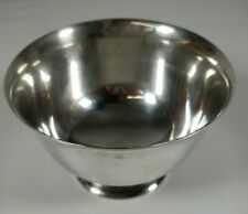 Vintage Tiffany & Co Makers Sterling Silver 23615 Paul Revere Footed Bowl